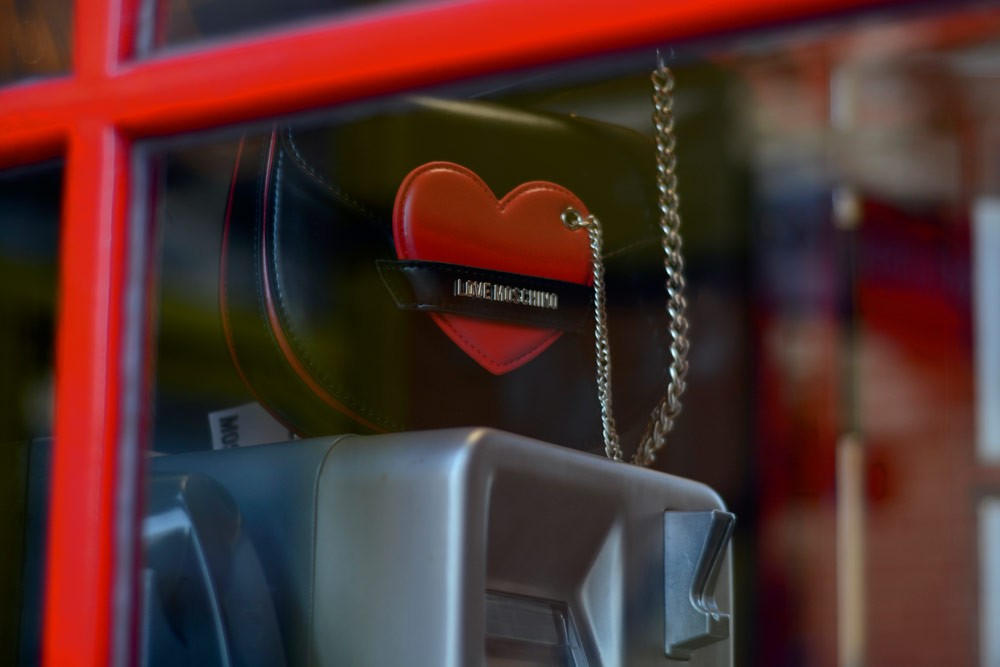 moschino bag heart valentine´s