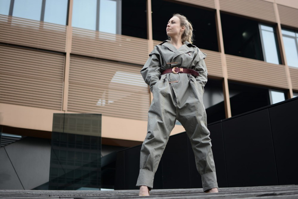 hannah jinkins, H&M design award 2016, jumpsuit, workwear