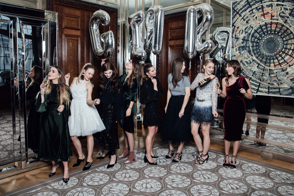 New Years Eve Party Look, Girls, Party, Silvester Outfits