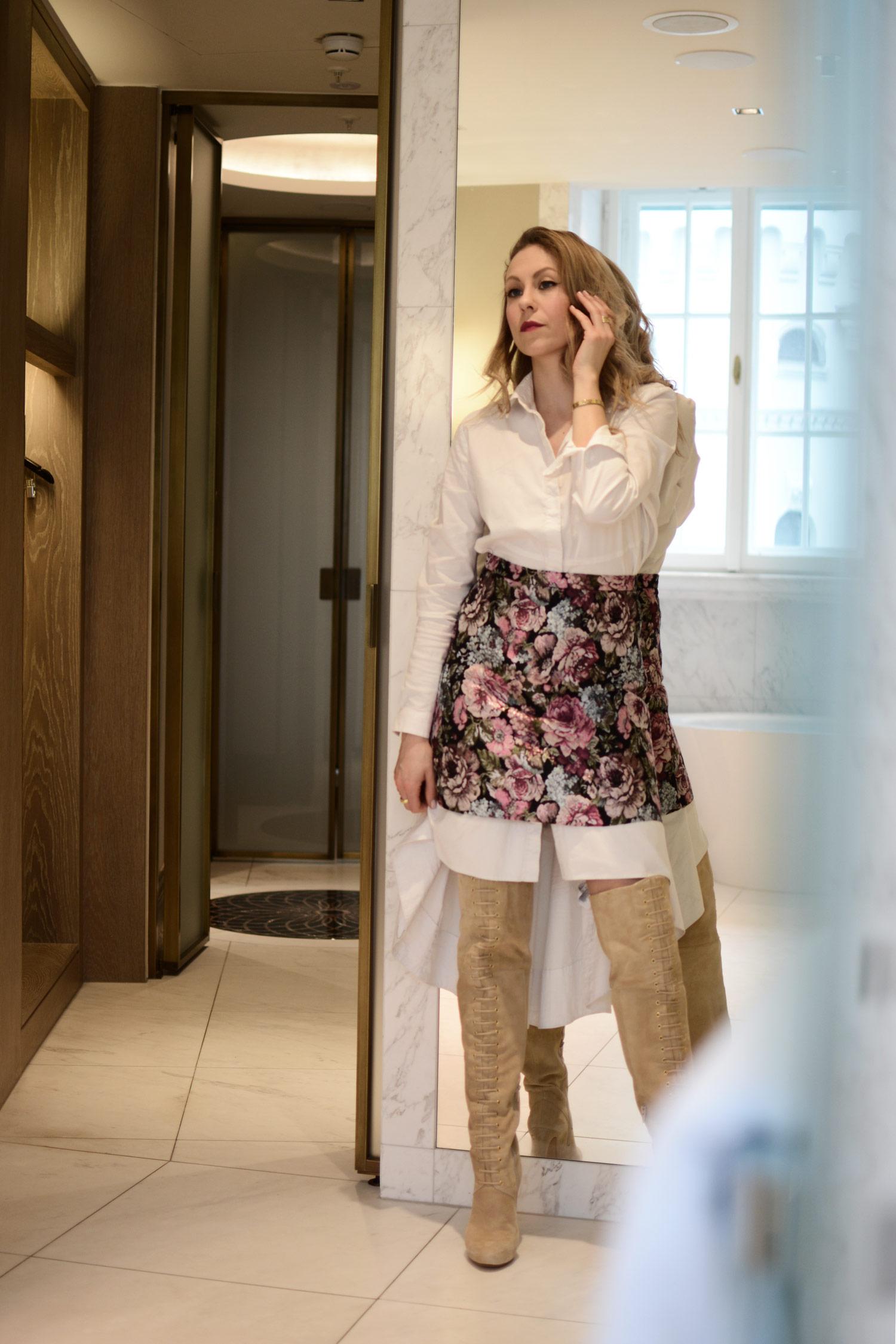 Berlinale 2017, Make-up Look L´Oréal Paris, Mai Piu Senza Overknees