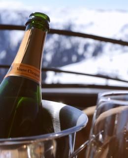 Veuve Clicquot, champagne, saalbach, austria