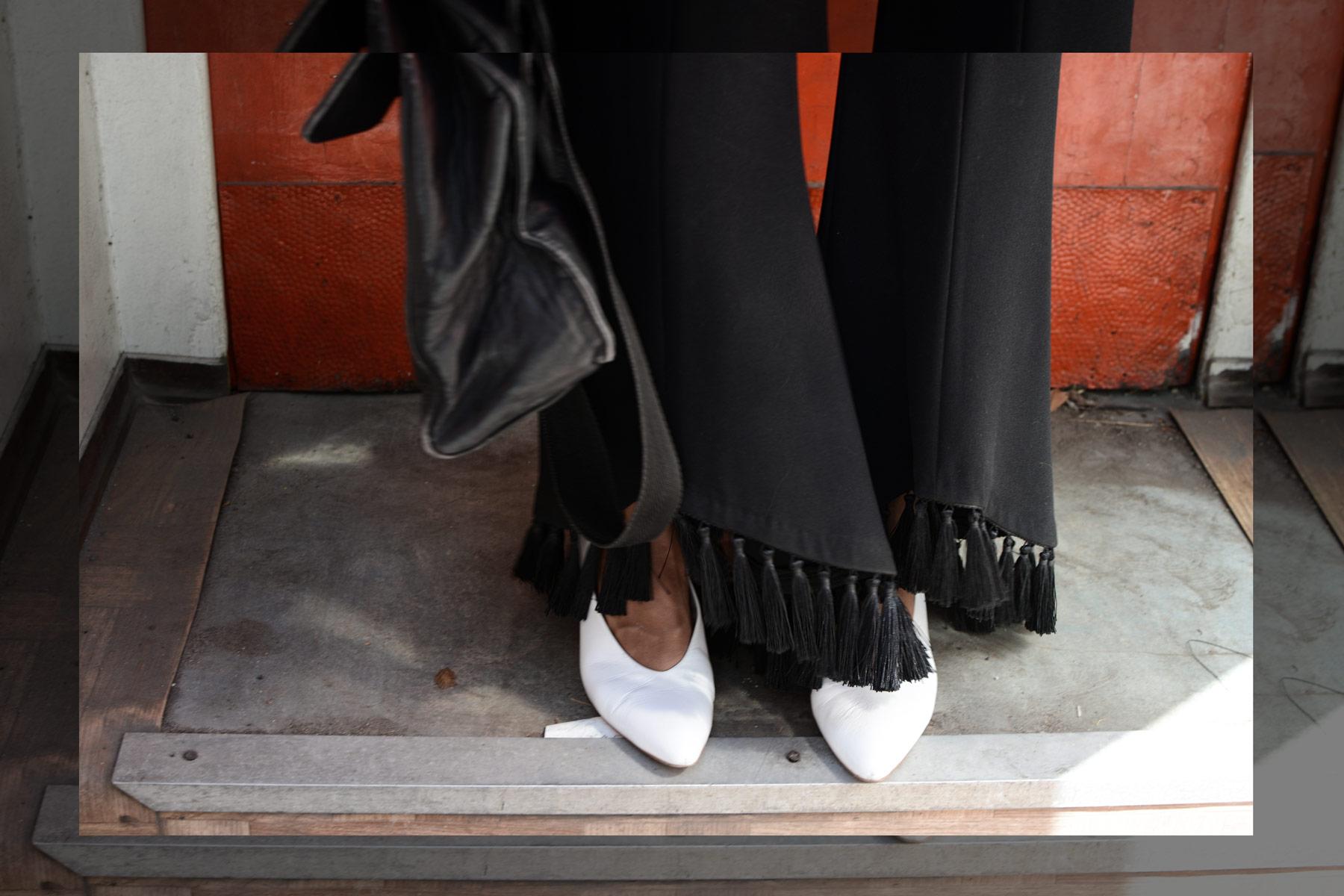 Blusen offen tragen - LES FACTORY FEMMES