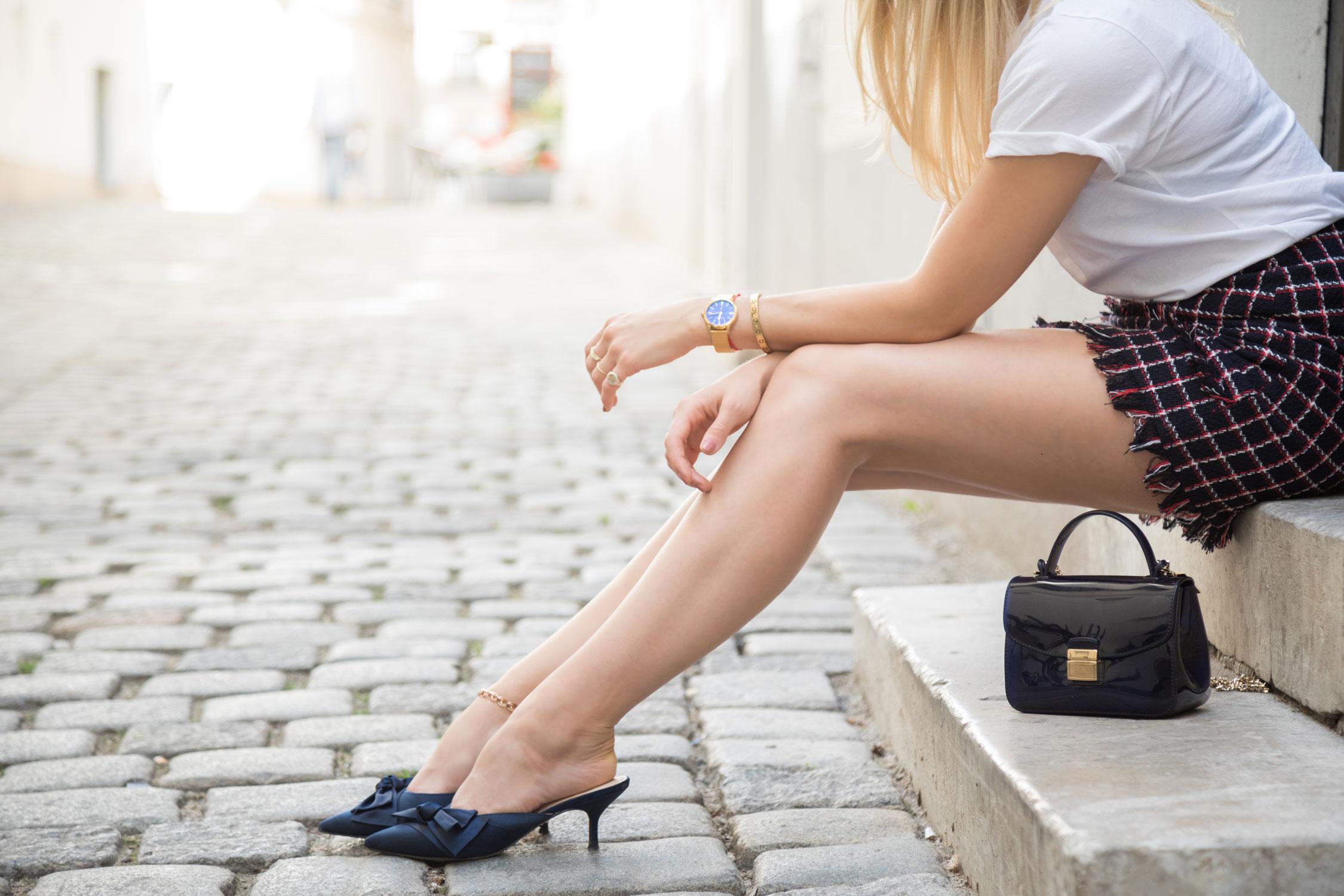 Röcke mit Karos - LES FACTORY FEMMES