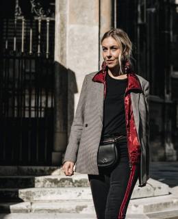 Bordeaux Rot auf ganzer Linie - LES FACTORY FEMMES