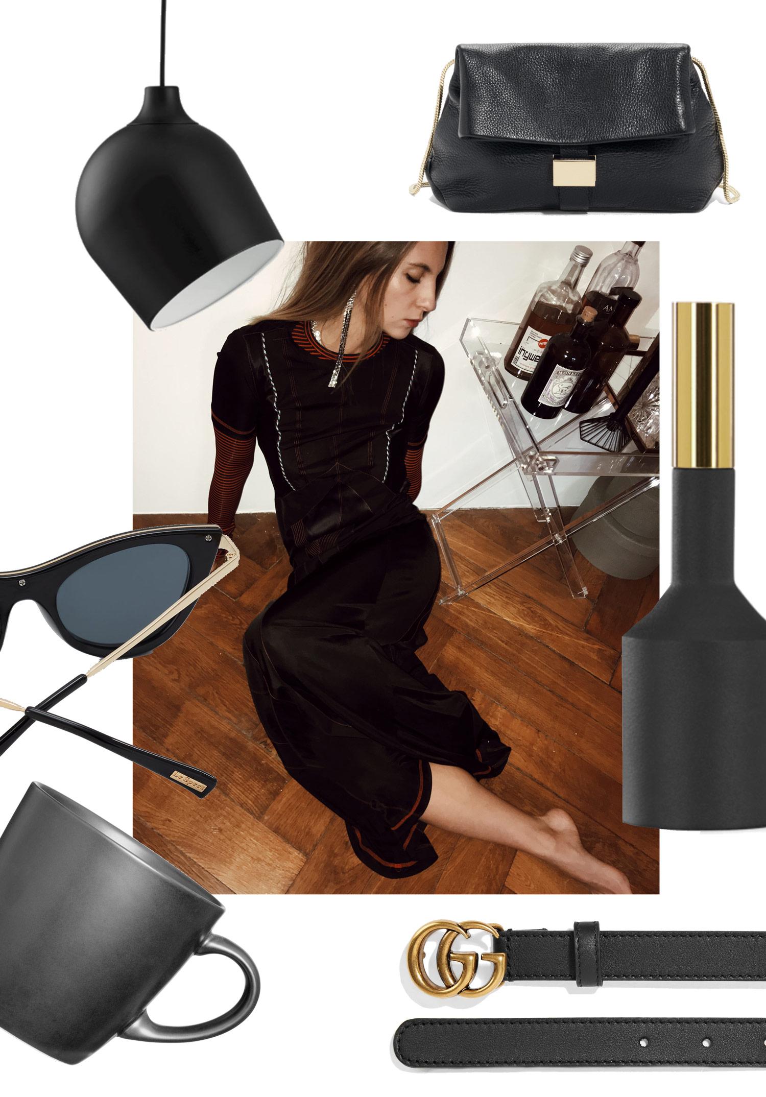 Black Interior Design - LES FACTORY FEMMES