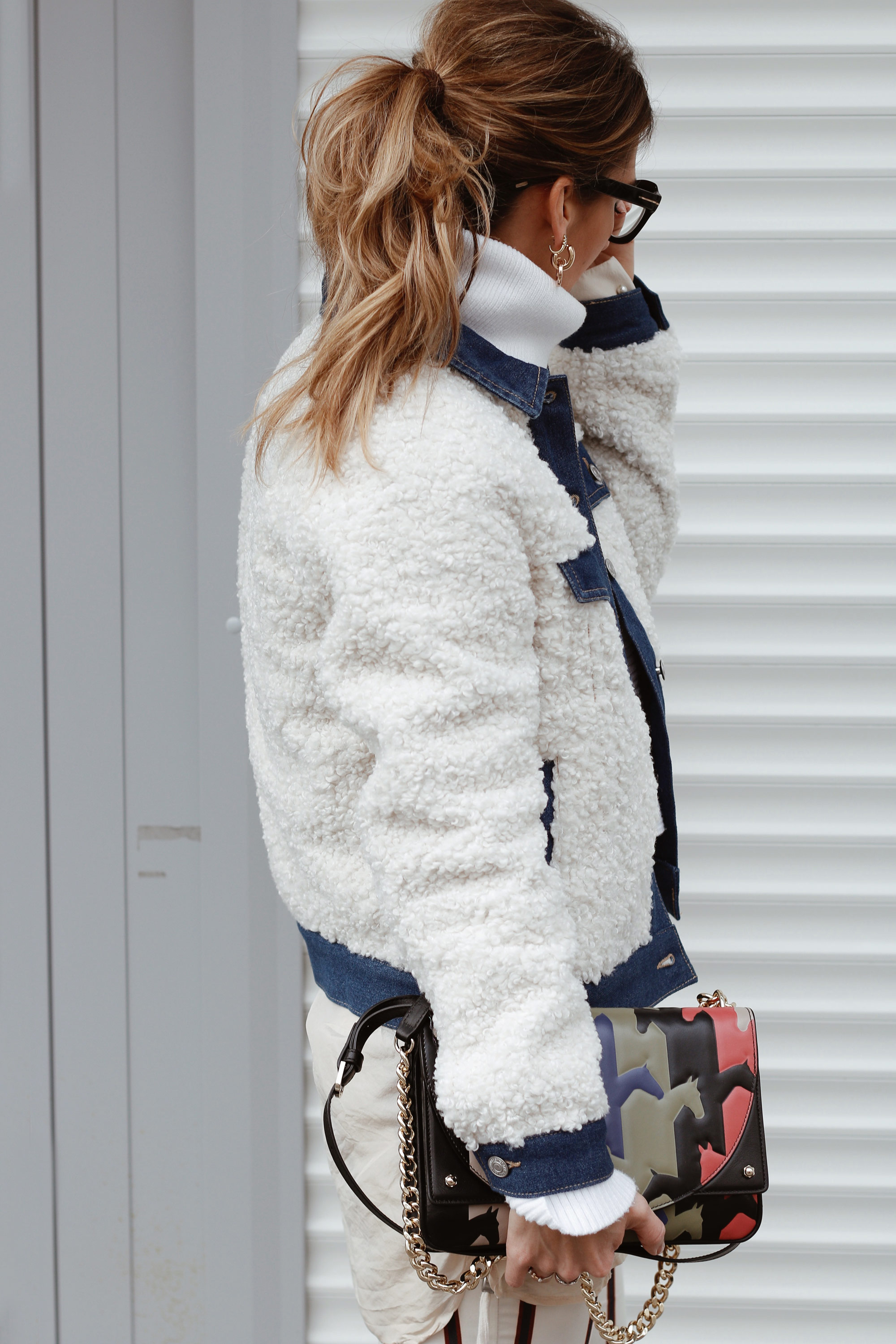 Teddy Bear Coat - LES FACTORY FEMMES