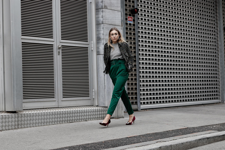 Chanel inspirierte Tweed Blazer