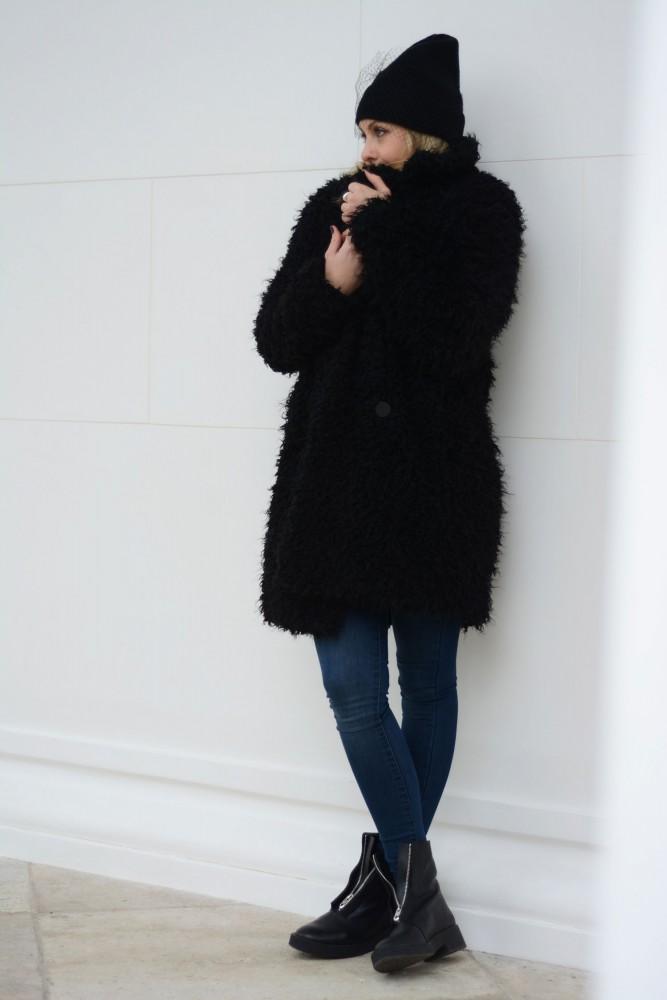 teddy bear coat h&m