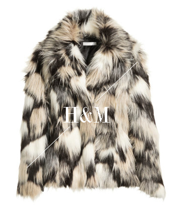 faux fur jacket streetstyle