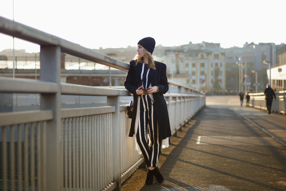 white stripes zalando outfit
