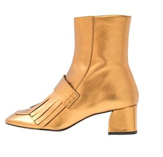 schuhtrends herbst winter 2016 , mode blogger österreich deutschland stieflette glitzer gold