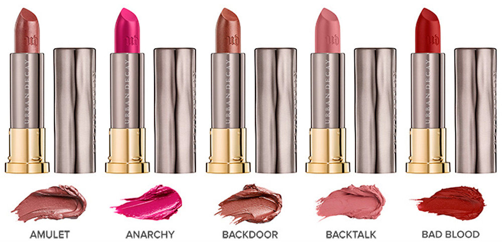 Urban Decay Vice Lipsticks mega matte, comfort matte, cream, make up, lips