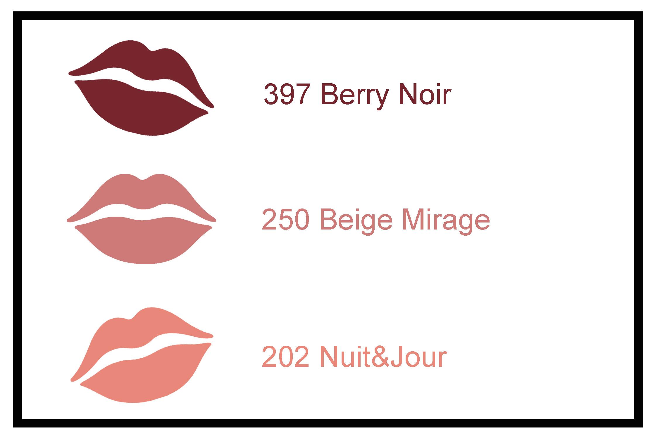 Lippenstift Farben