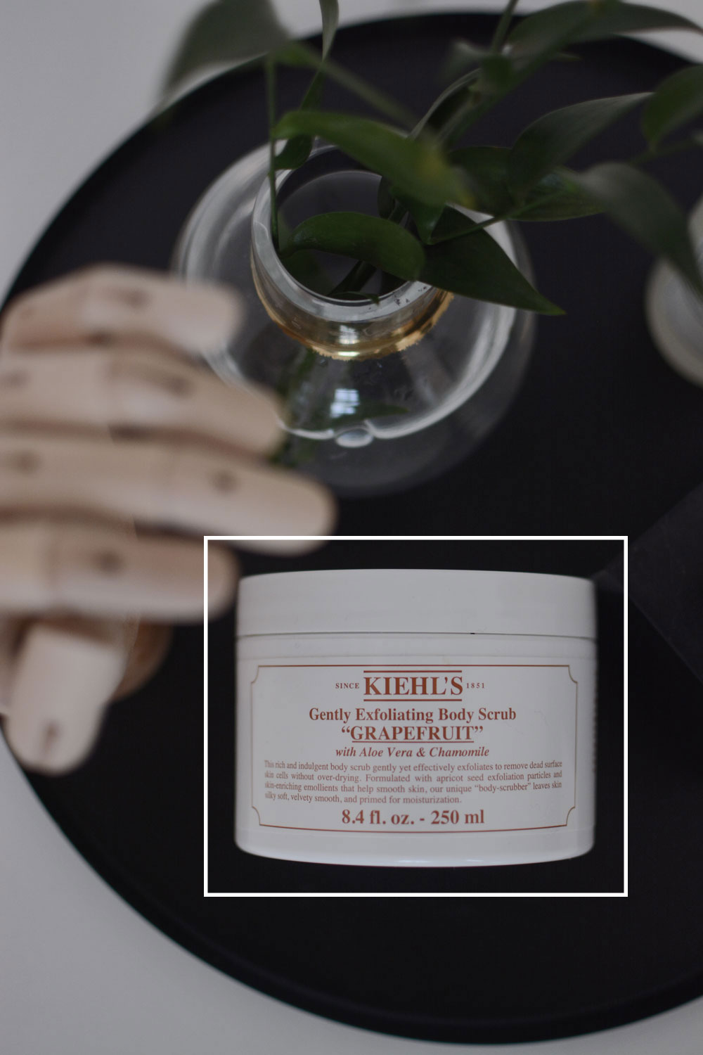 Hautpflege Favoriten, kiehls, bodyscrub