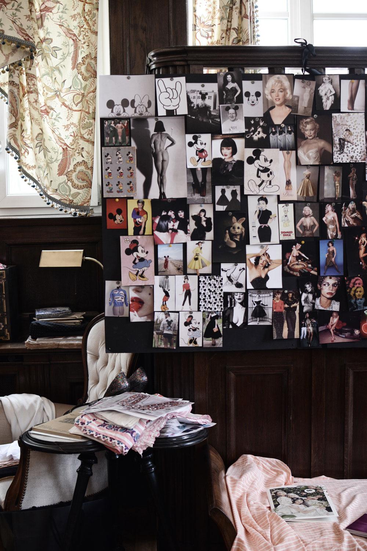 Atelier von Lena Hoschek, Brautkleider, Interview, Designer, Vintage, Moodboard