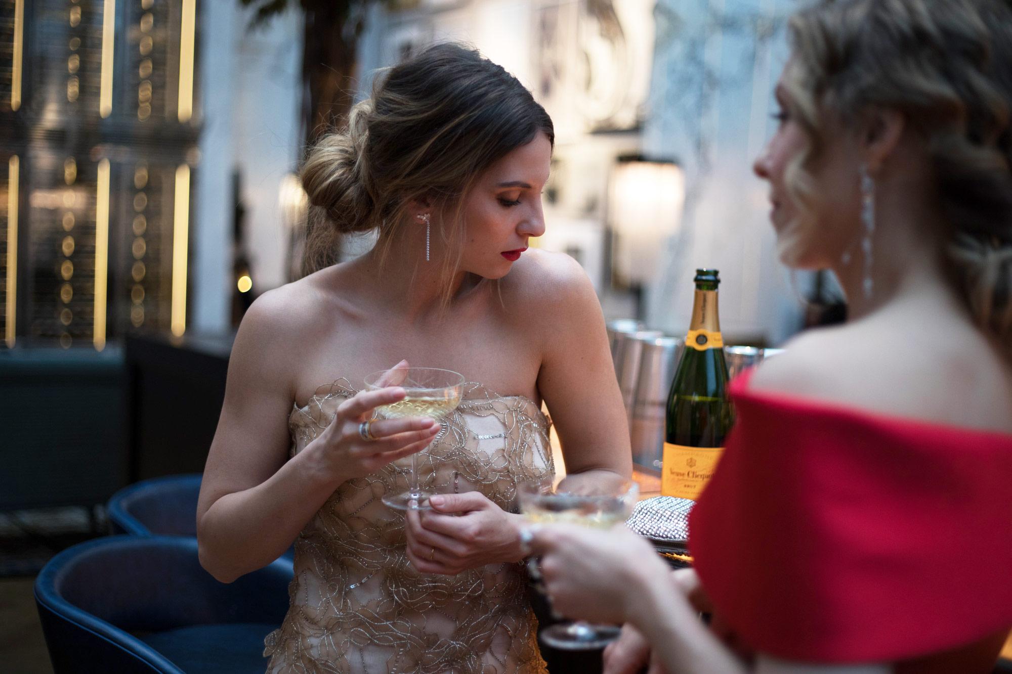 Cinderella Moment, glam room, romy gala 2017. romy gala red carpet, romy gala look