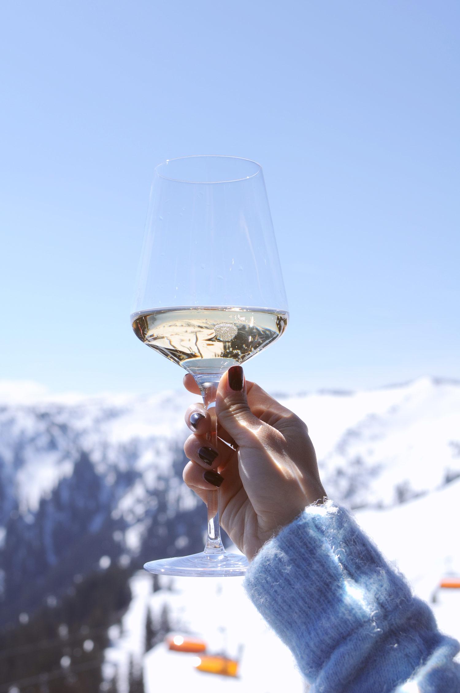 Veuve Clicquot, yellow label, champagne, saalbach, austria