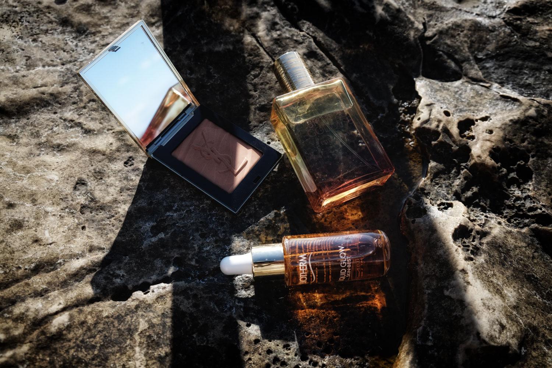 sommer beauty produkte, ysl, solar pop kollektion, biotherm, liquid glow, estee lauder, bronze goddess, lesfactoryfemmes