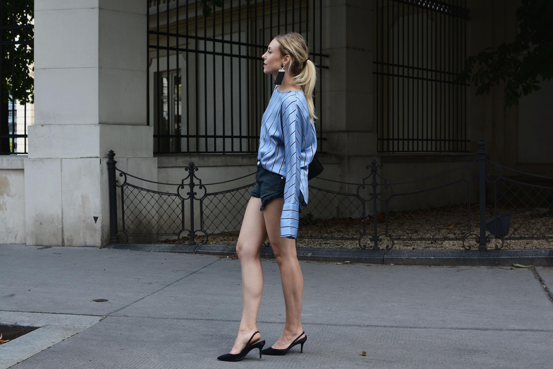 Shorts citytauglich stylen - LES FACTORY FEMMES