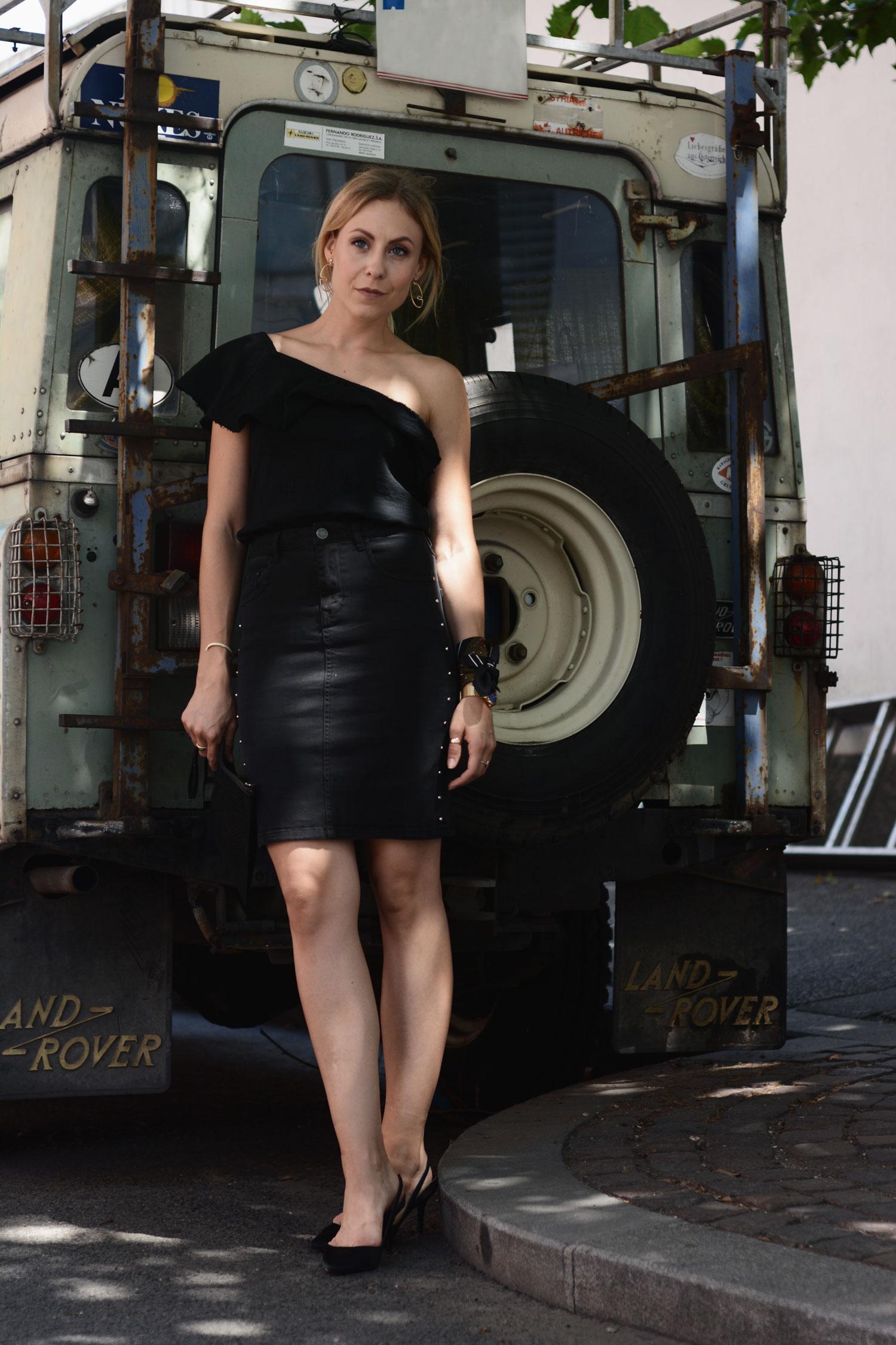 Denim Skirts - LES FACTORY FEMMES