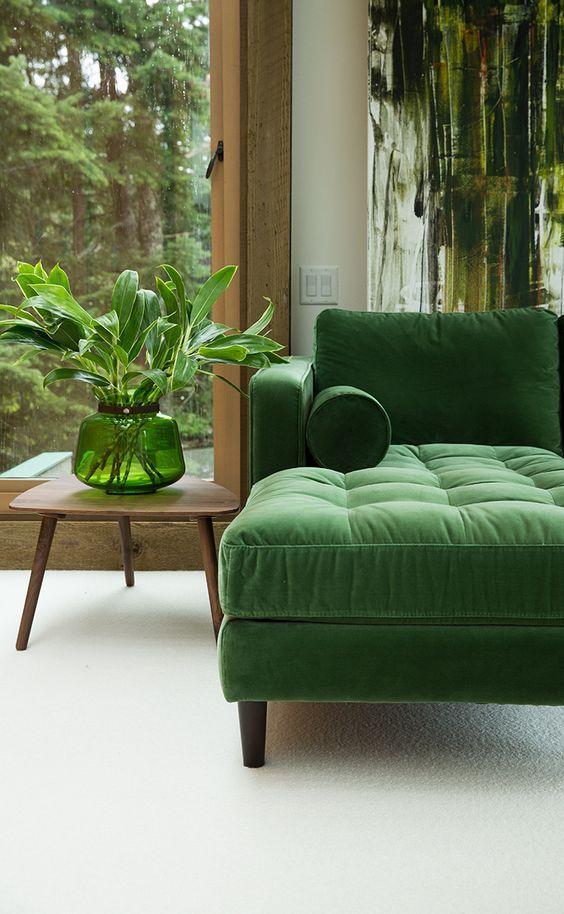 Pantone Greenery Interior - LES FACTORY FEMMES