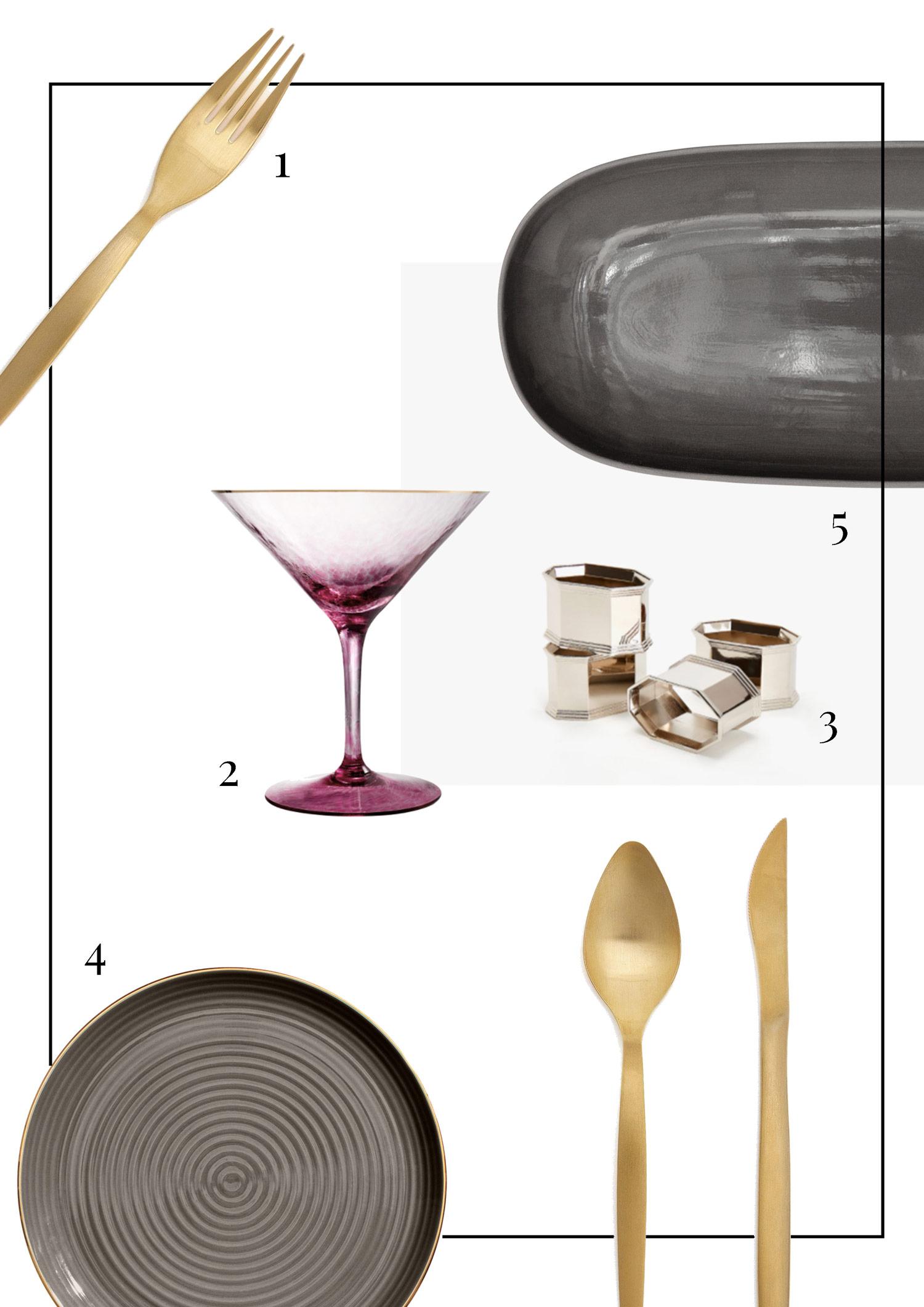 Skandinavische Tischdekoration - LES FACTORY FEMMES