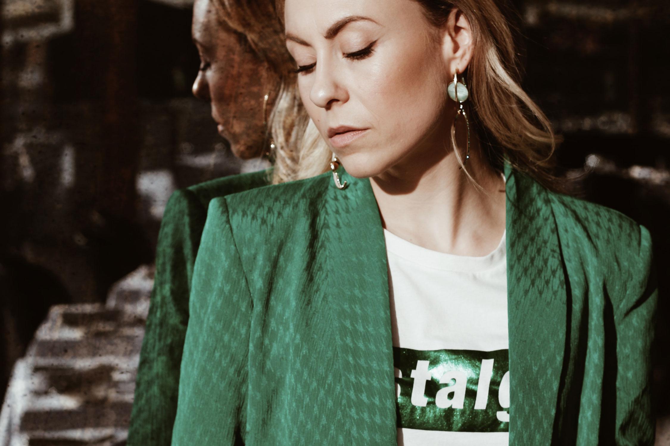 Grün gibt den Ton an - LES FACTORY FEMMES
