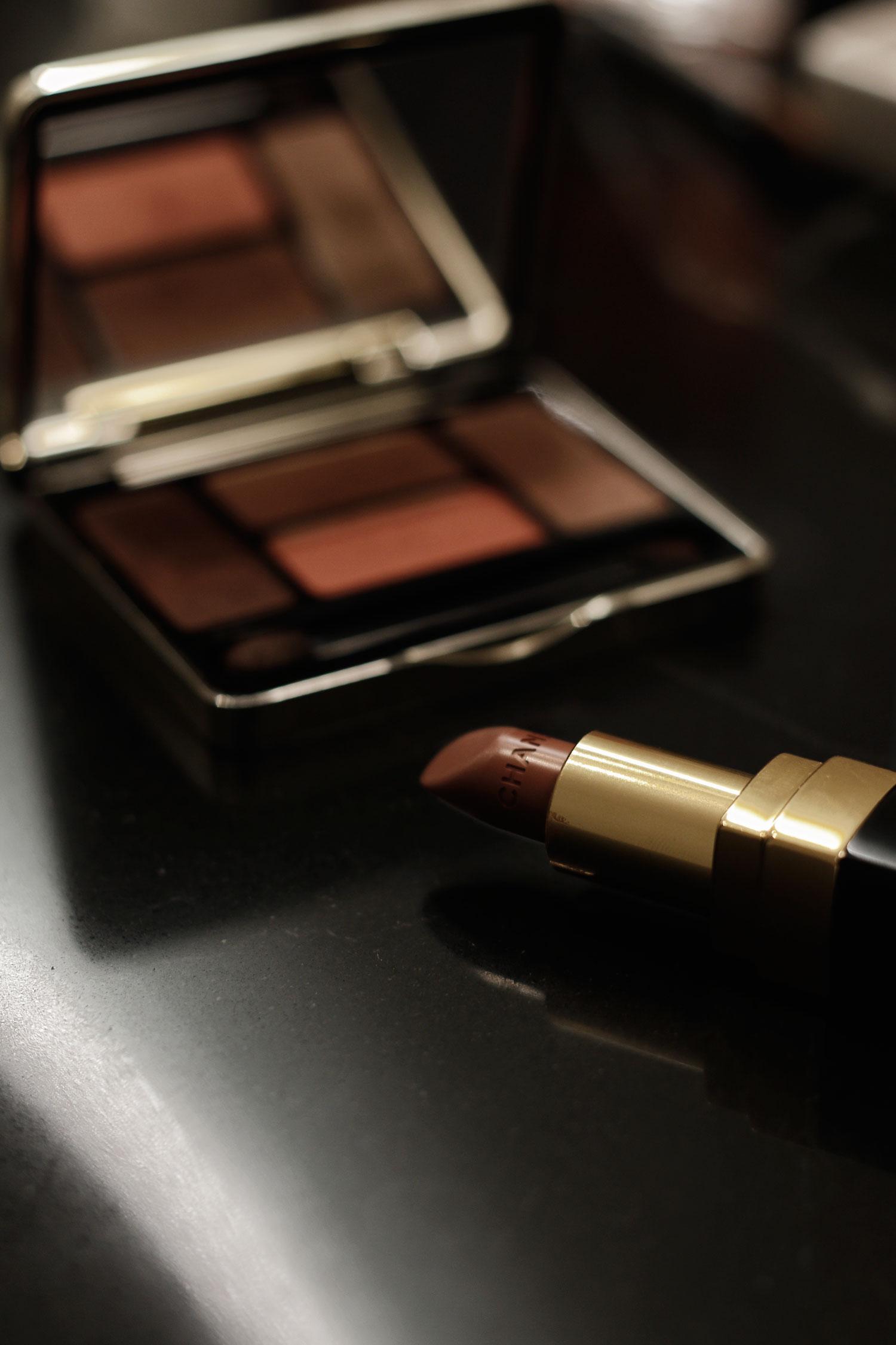 Copper Eyes Make-up Look - LES FACTORY FEMMES