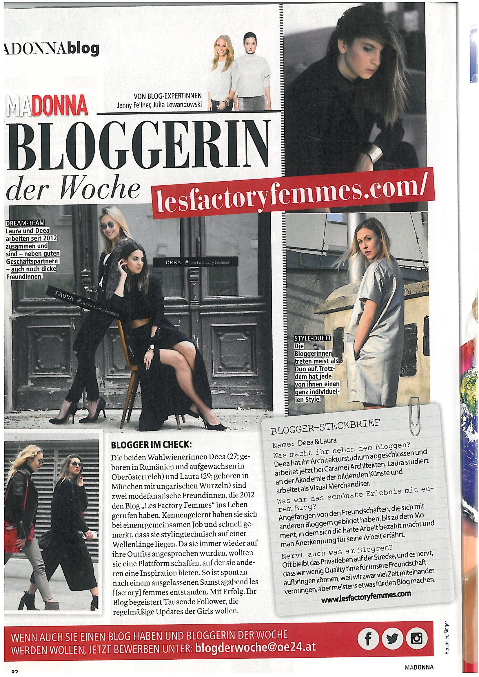 madonna magazin - www.lesfactoryfemmes.com