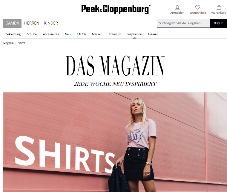 Peek&Cloppenburg - www.lesfactoryfemmes.com