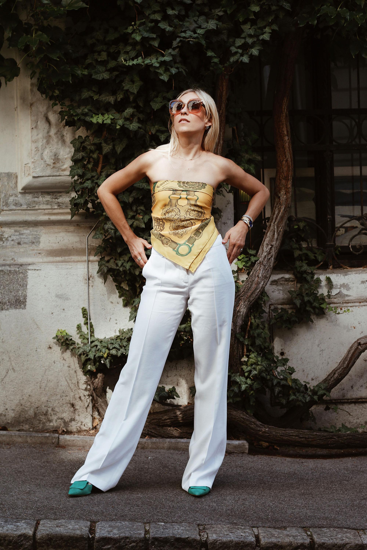 Hermès Seidenschal - www.lesfactoryfemmes.com
