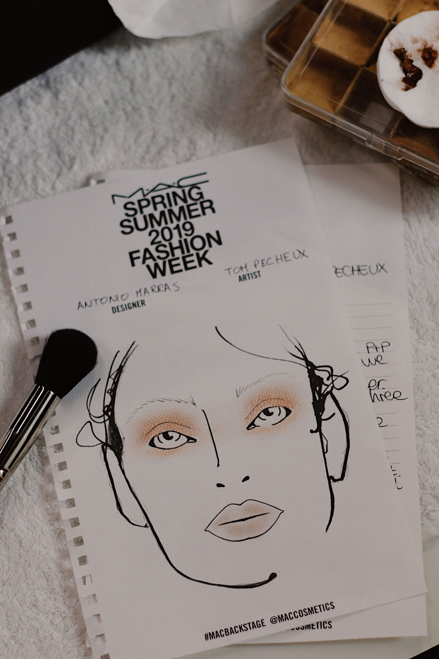 Backstage mit MAC Cosmetics auf der Milan Fashion Week
