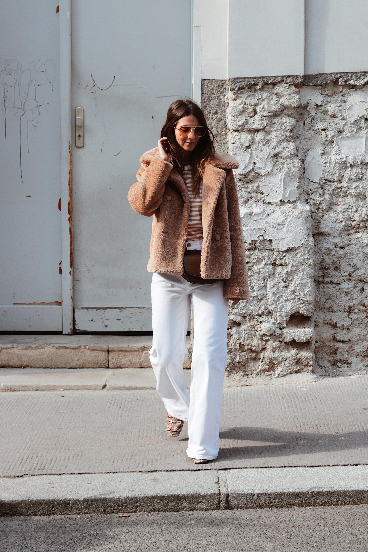 Teddy Coat Look - www.lesfactoryfemmes.com