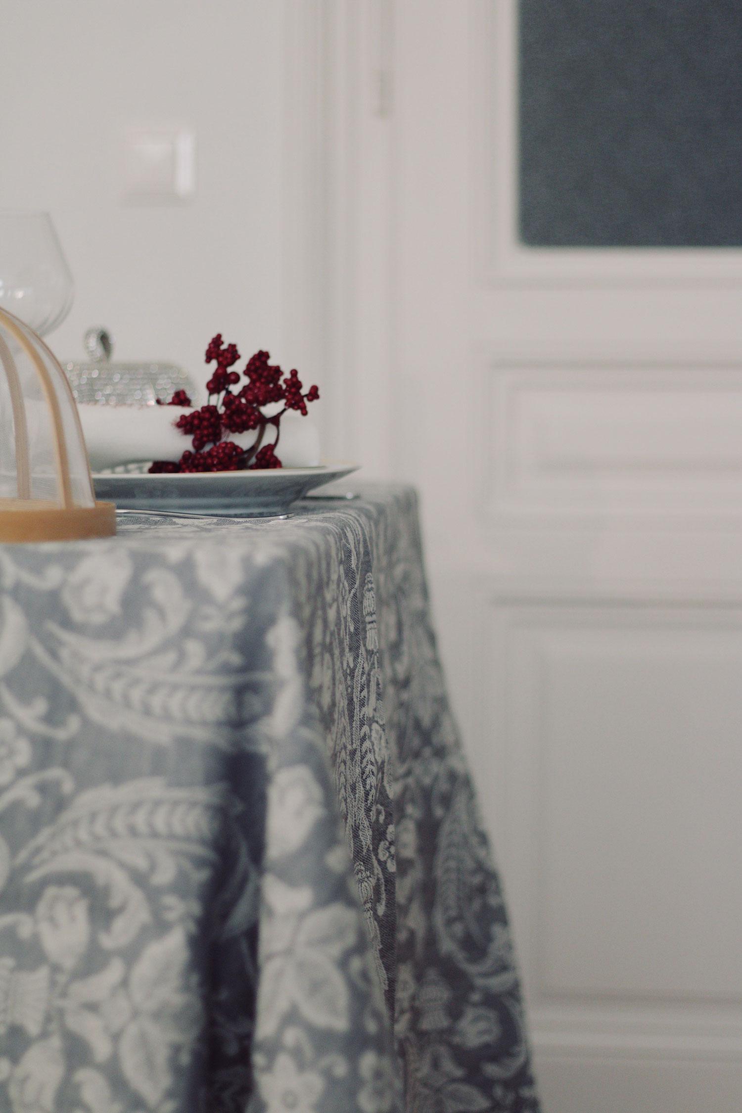 Weihnachtstafel dekorieren - www.lesfactoryfemmes.com