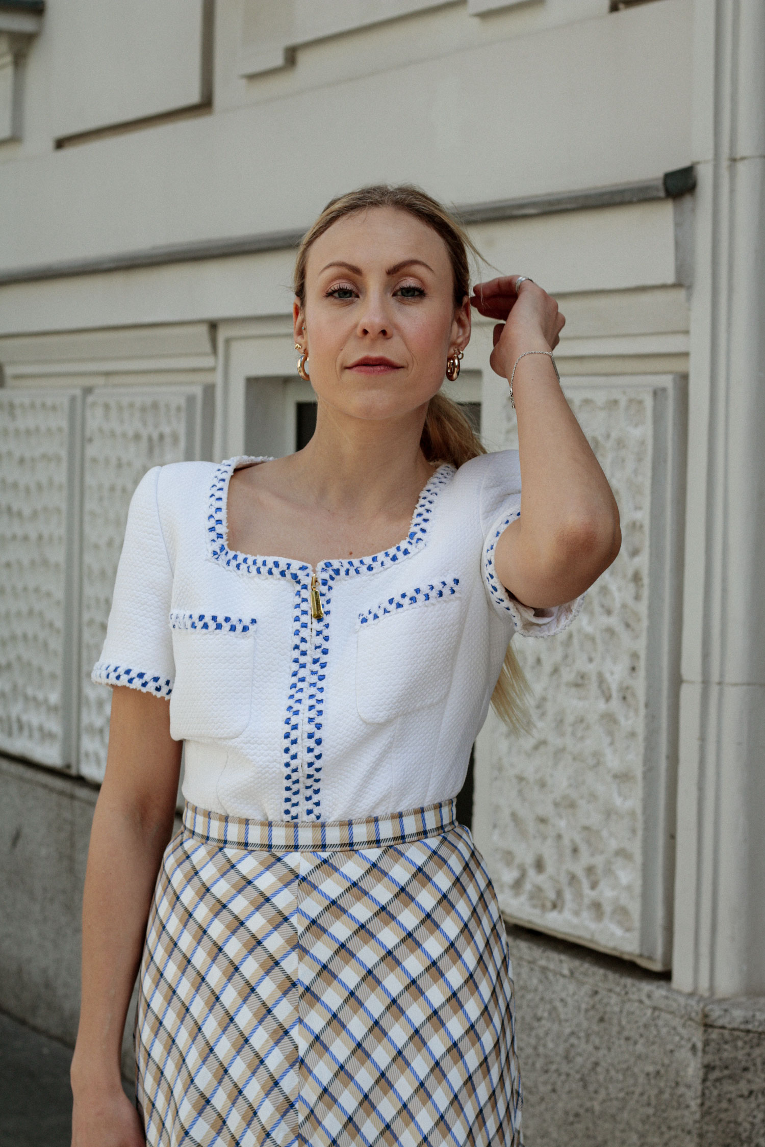Blanket Skirt - www.lesfactoryfemmes.com